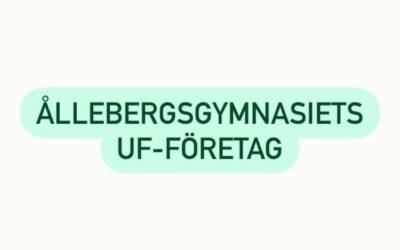 Ållebergsgymnasiets UF-företag
