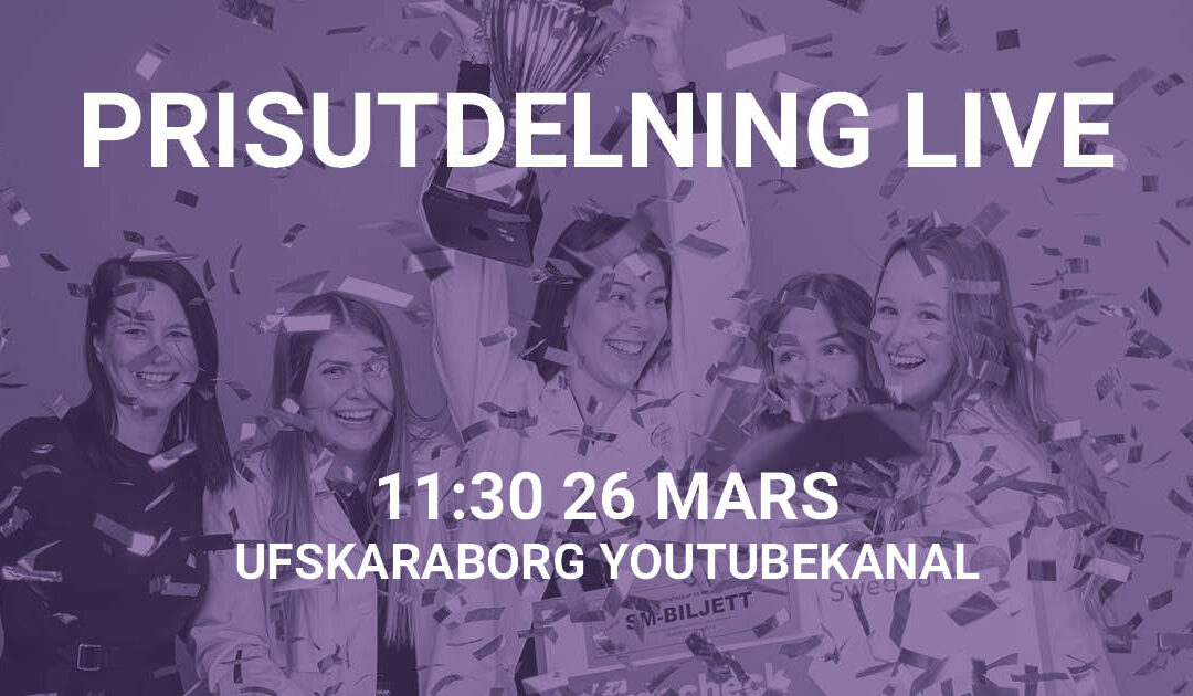 Vinster i UF-mässan Skaraborg 2021